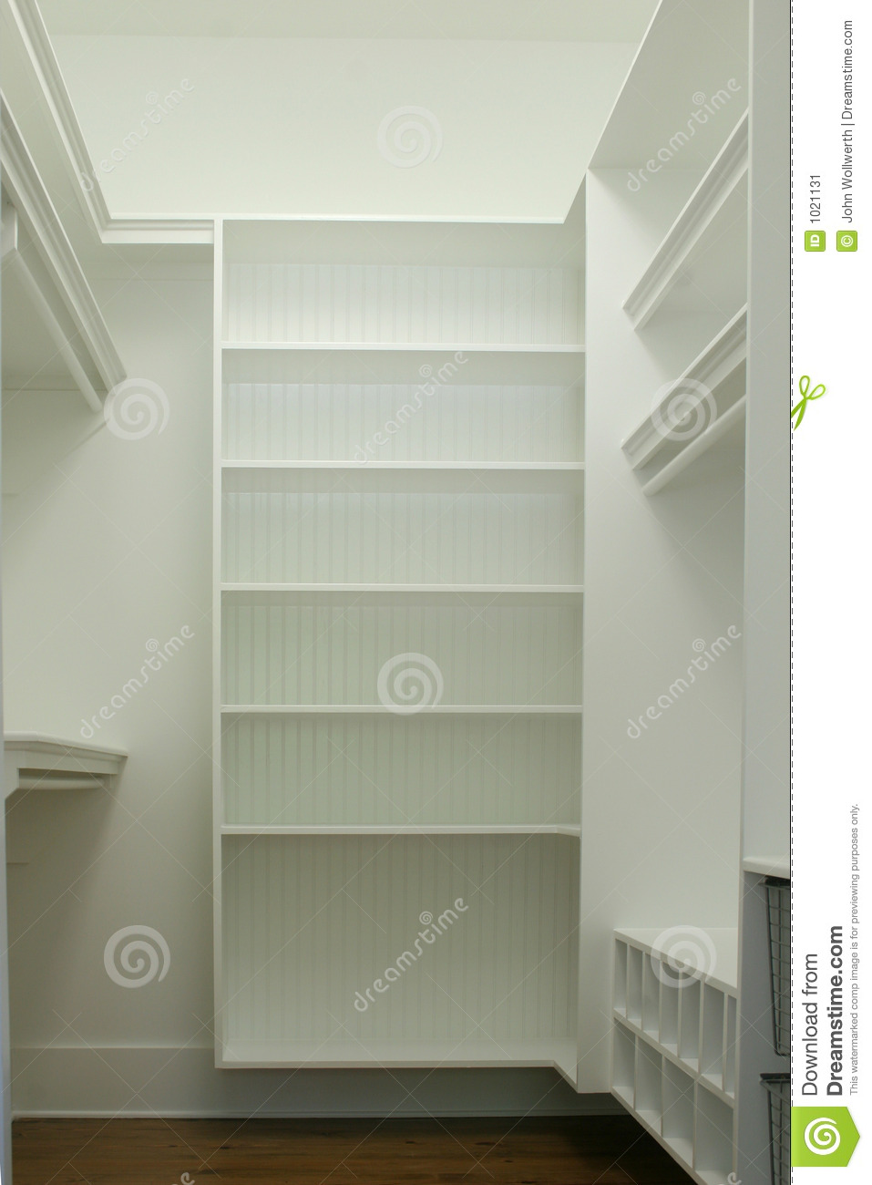 Walk In Closet Stock Image Image Of Hang Shelf House