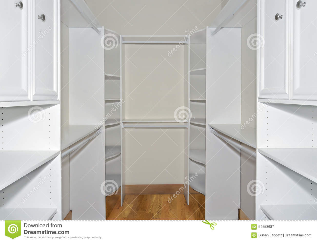 Royalty Free Stock Photo. Download Walk In Closet Organizers ...