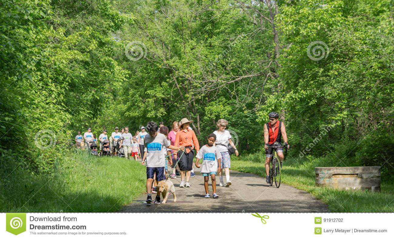Walk for Life, Roanoke, Virginia, USA