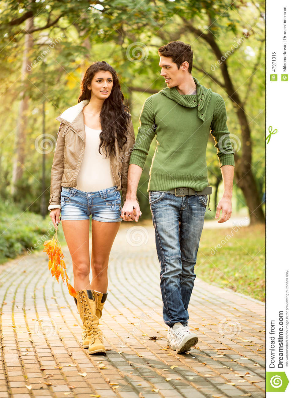 Walk In The Park Stock Photo - Image: 47971315