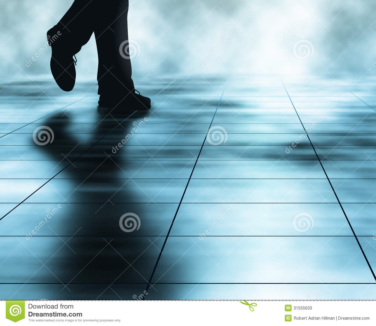 Walker stock vector illustration of vector illustration for 1 2 3 4 monsters walking across the floor
