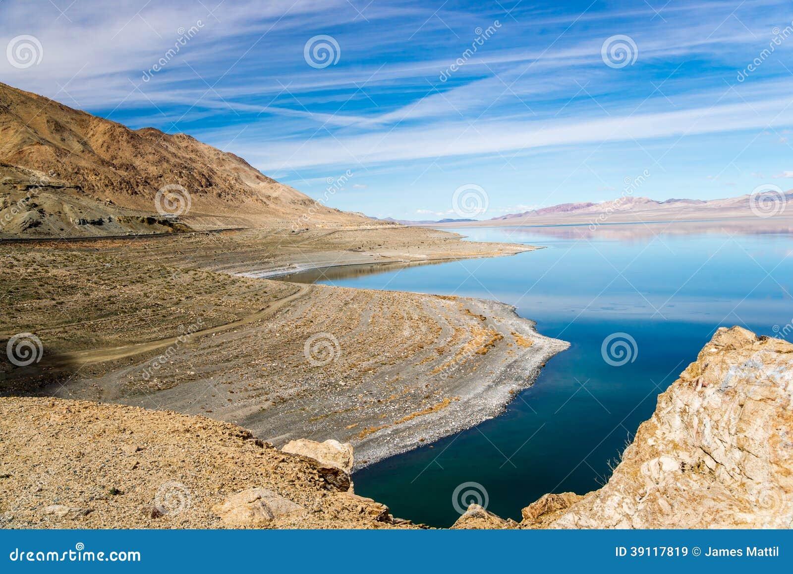 Walker Lake Drought Effect