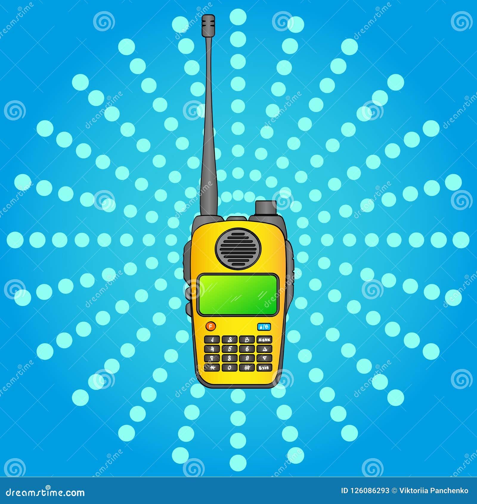 Walkie Talkie  Radio Station  Portable Receiving Transceiver