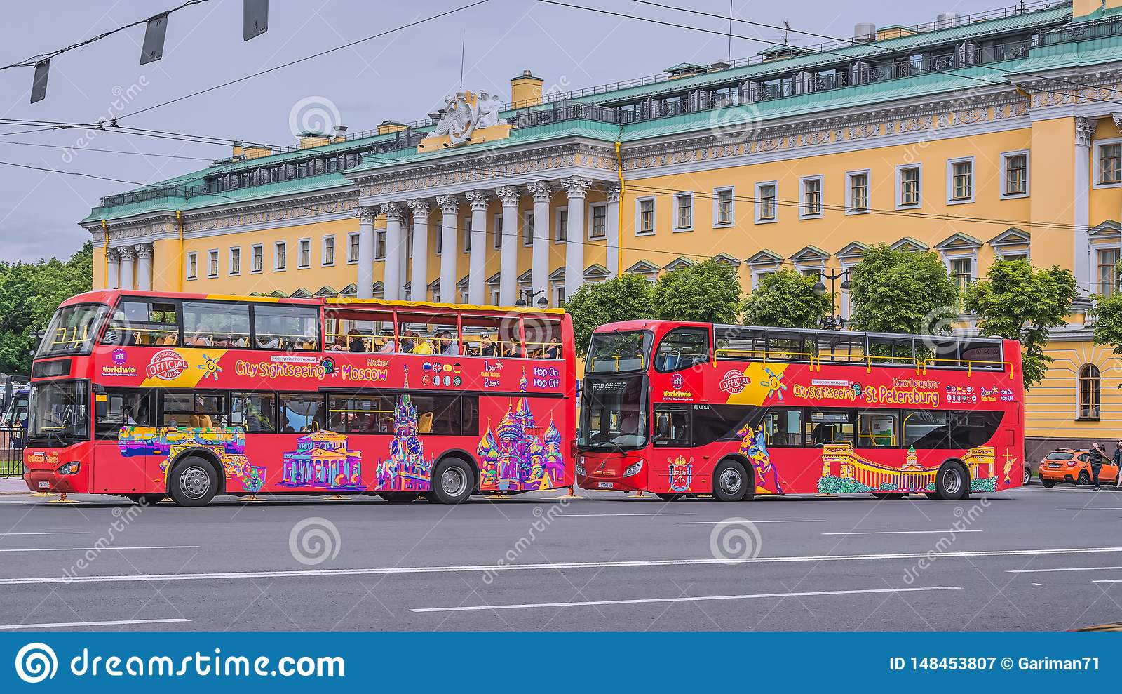 City sketches Saint-Petersburg, Russia