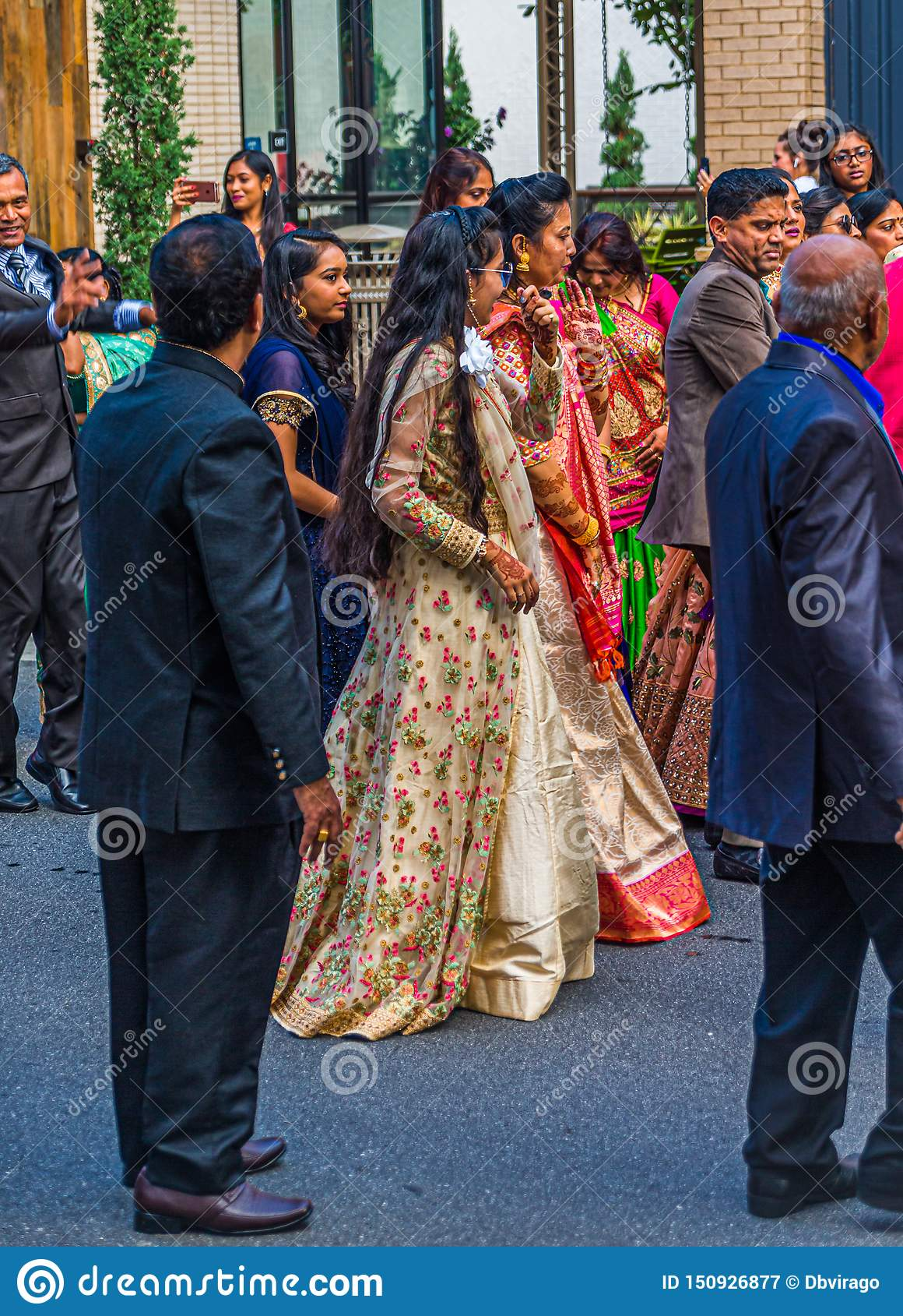 Walking with the Bride