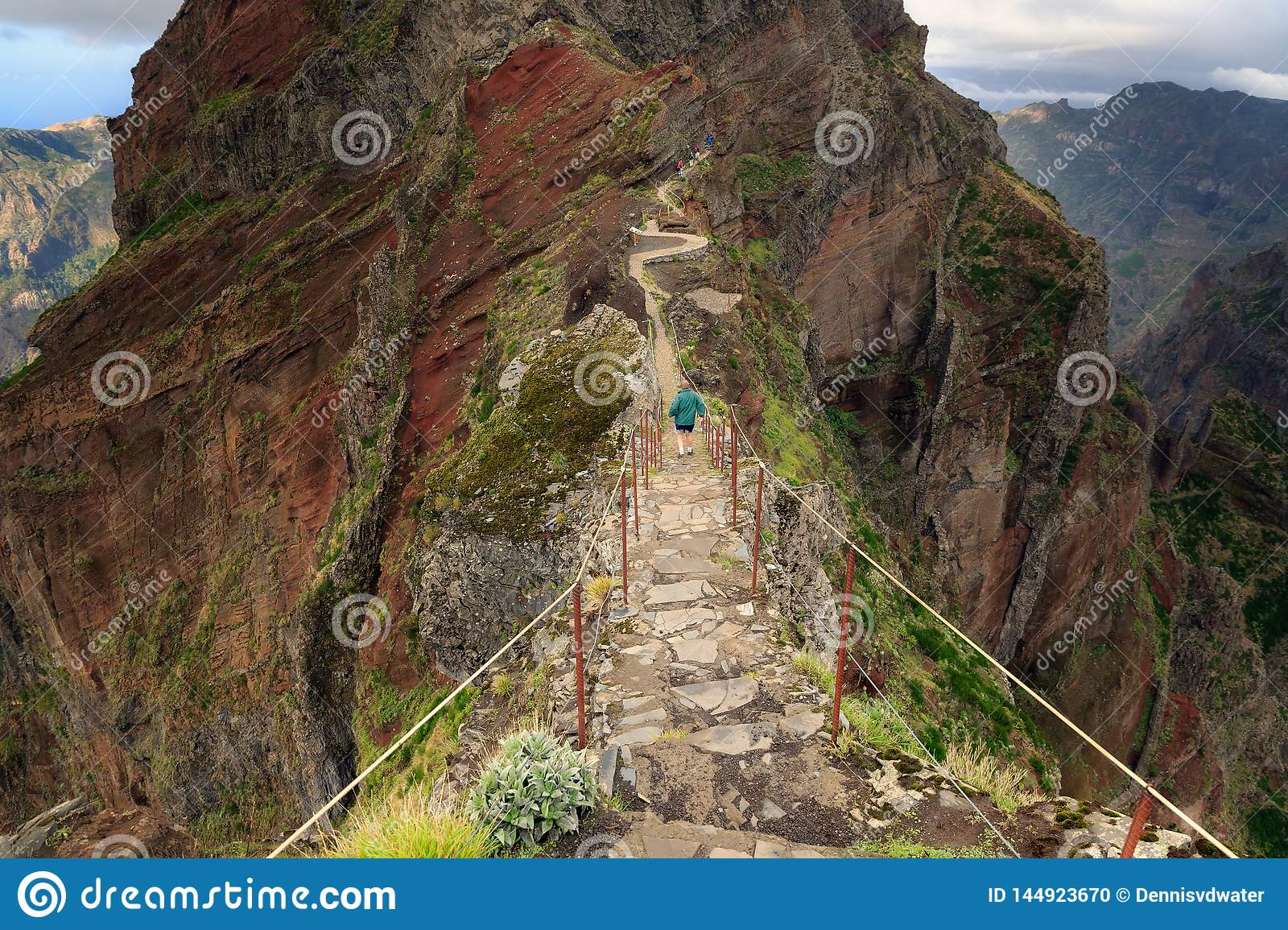 Walking on the edge of Madeira