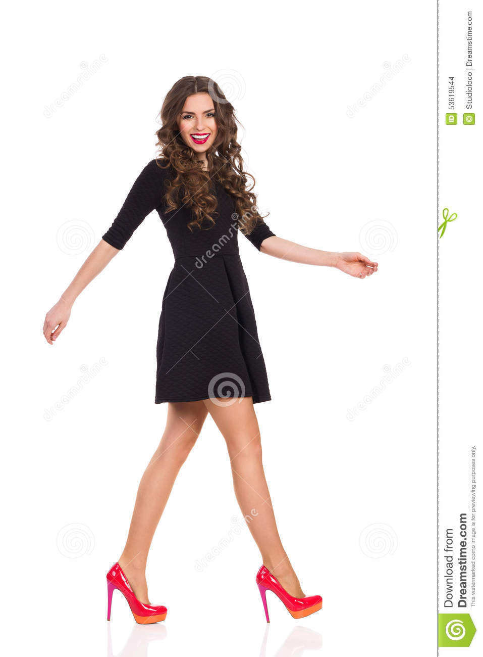 Fashion Model Walking Royalty Free Stock Images - Image ... |Fashion Model Walking