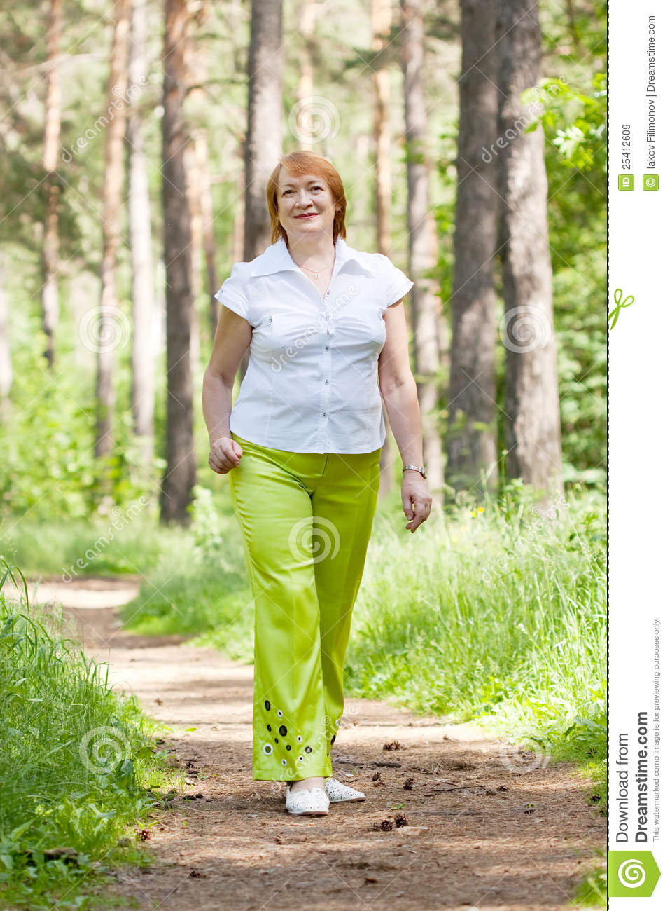 Mature Walking 14