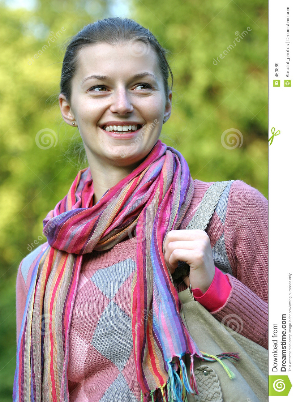 Download Walking in the park stock image. Image of autumn, clothing - 453889