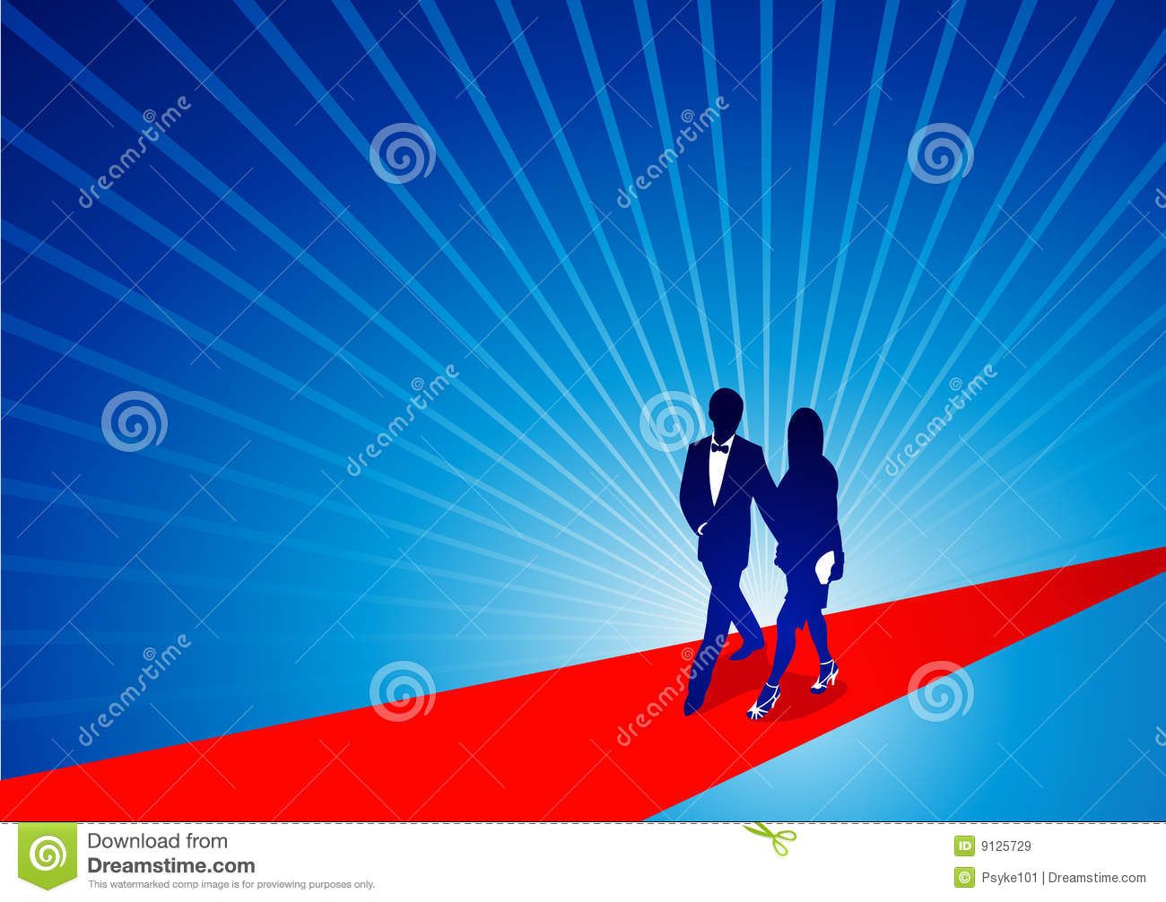 Walking The Red Carpet Royalty Free Stock Images Image