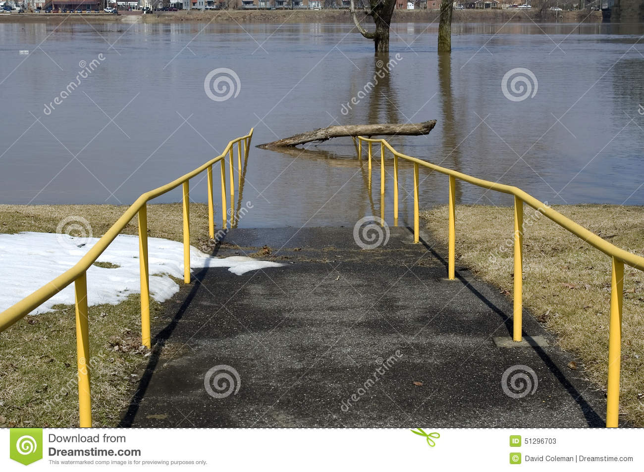 how to fix a walkway that floods