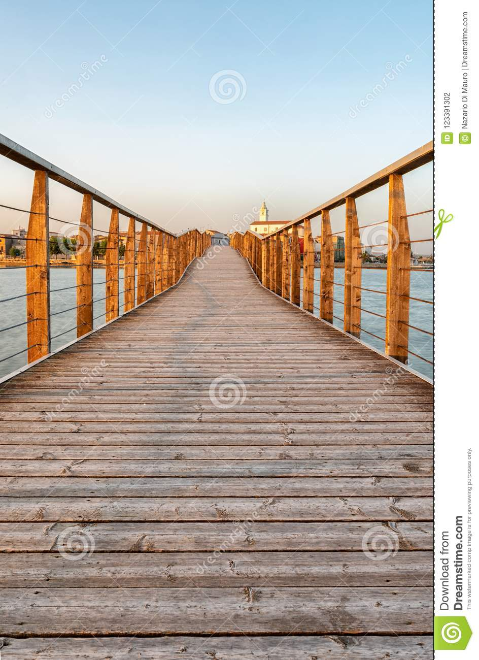 4b9e28b9f0 Walkway On The Lake Of Lesina Stock Photo - Image of nature, walkway ...