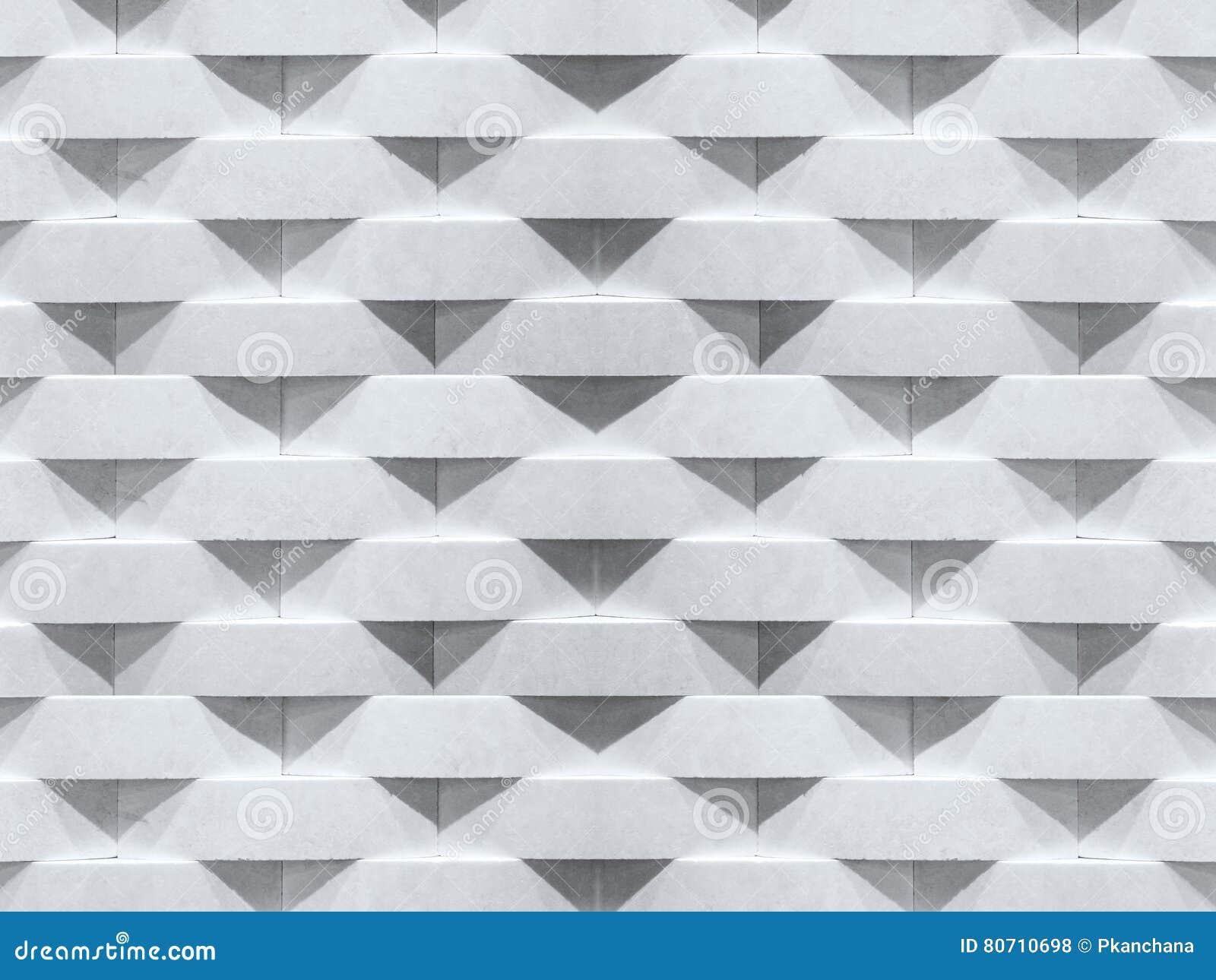 Wall background. Geometric curve stone brick pattern.