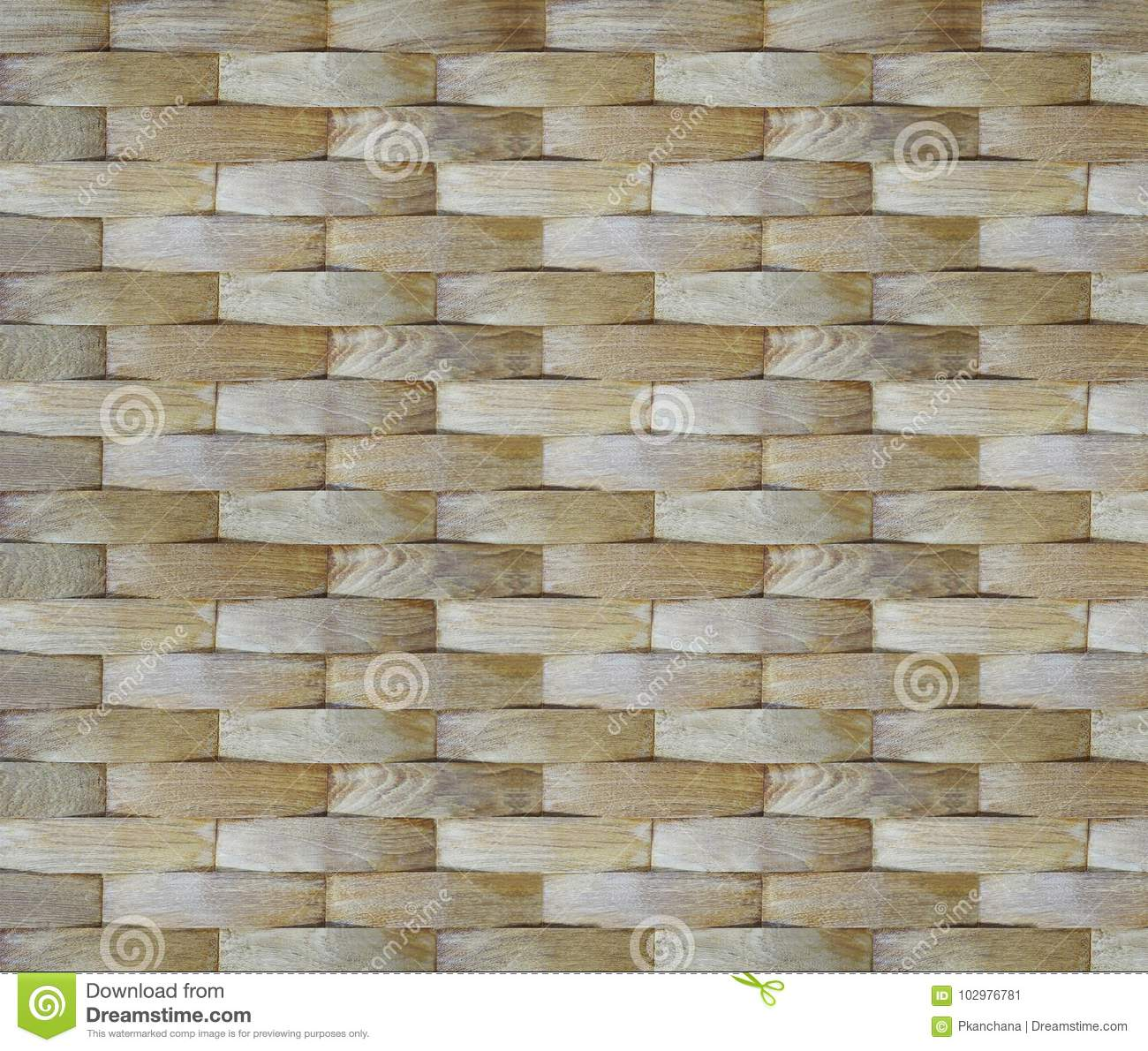 Wall background. Geometric curve veneer wood pattern for interior design.