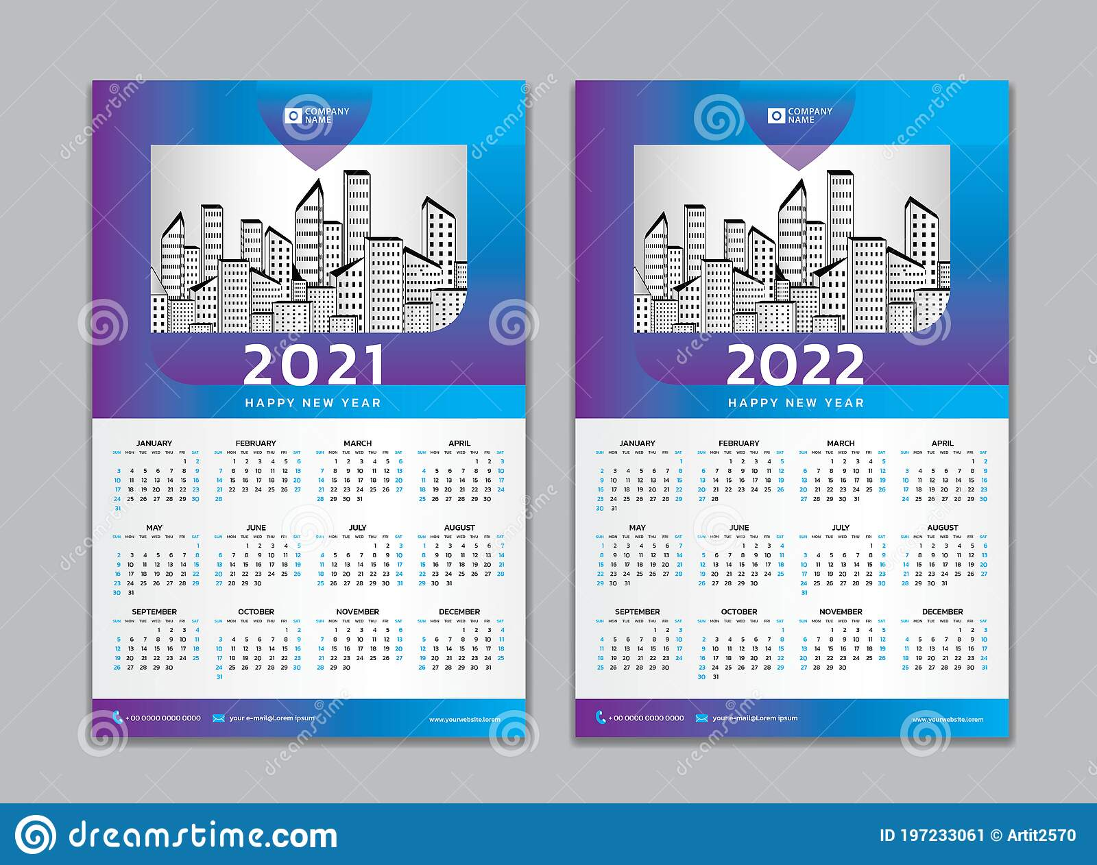 Free 2022 Wall Calendar By Mail.Calendar 2021 2022 Template Vector Wall Calendar 2021 2022 Design 12 Months Include Stock Vector Illustration Of Cover Months 197233061