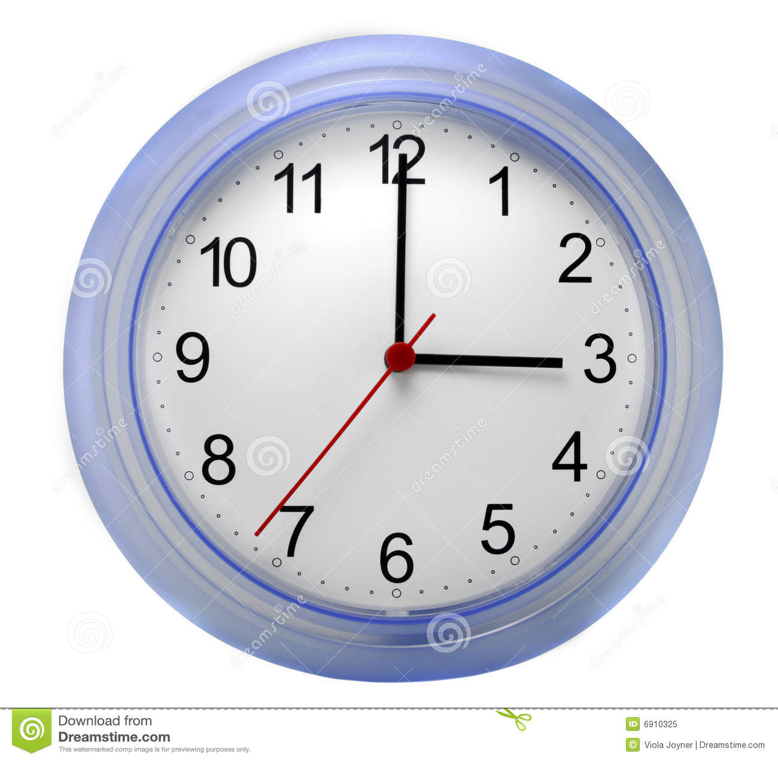 Wall clock stock image image of white hand face break - Reloj de pared adhesivo ...
