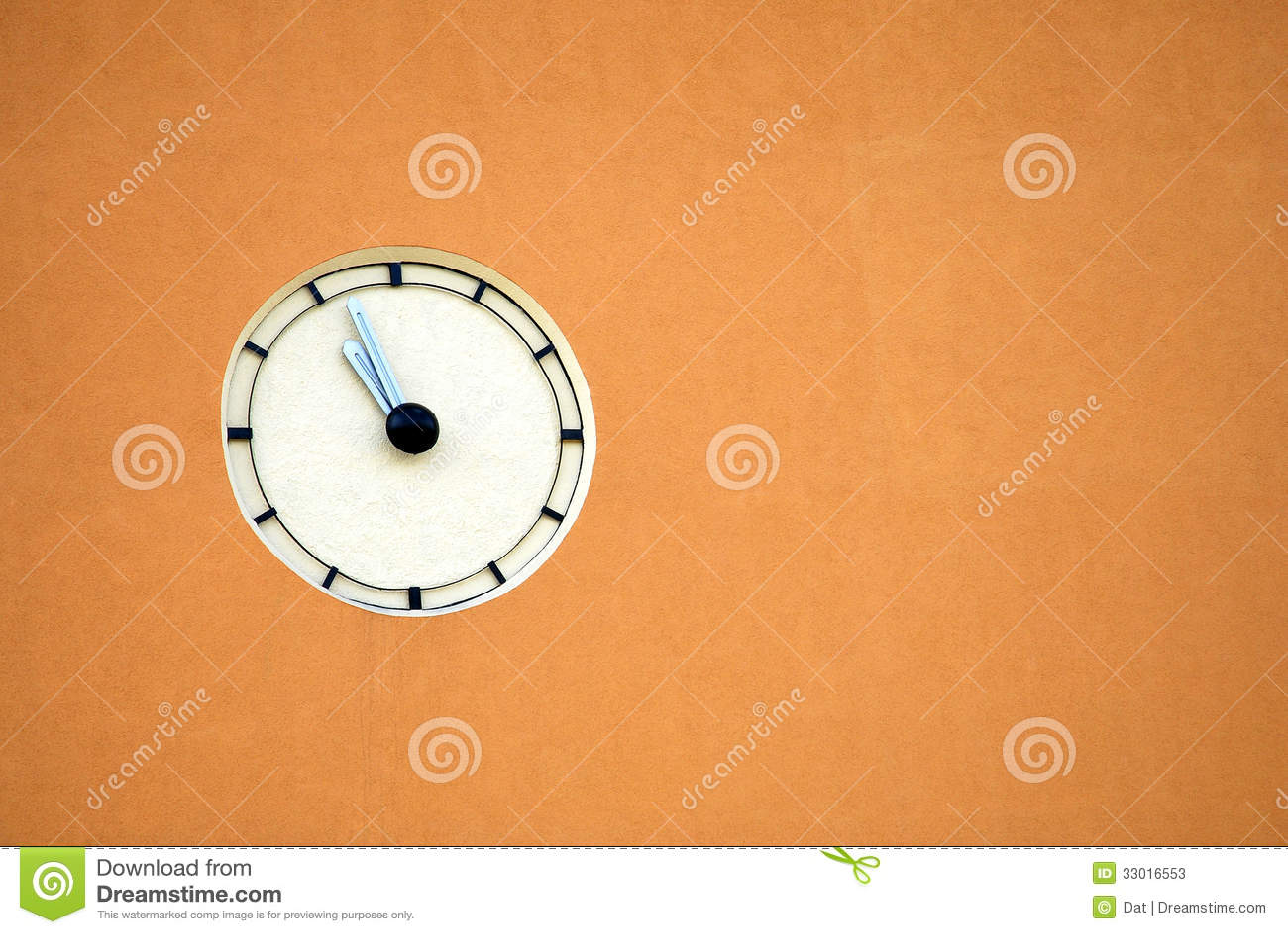 Wall Clock Stock Image Image Of Timekeeper Urban Hands 33016553