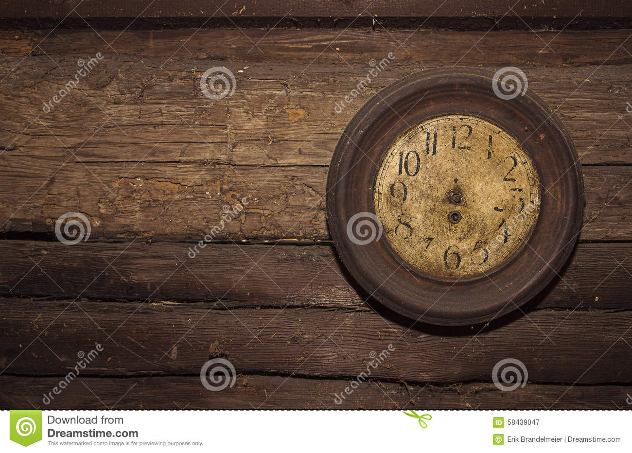 wall clock without watch hands stock photo image 58439047