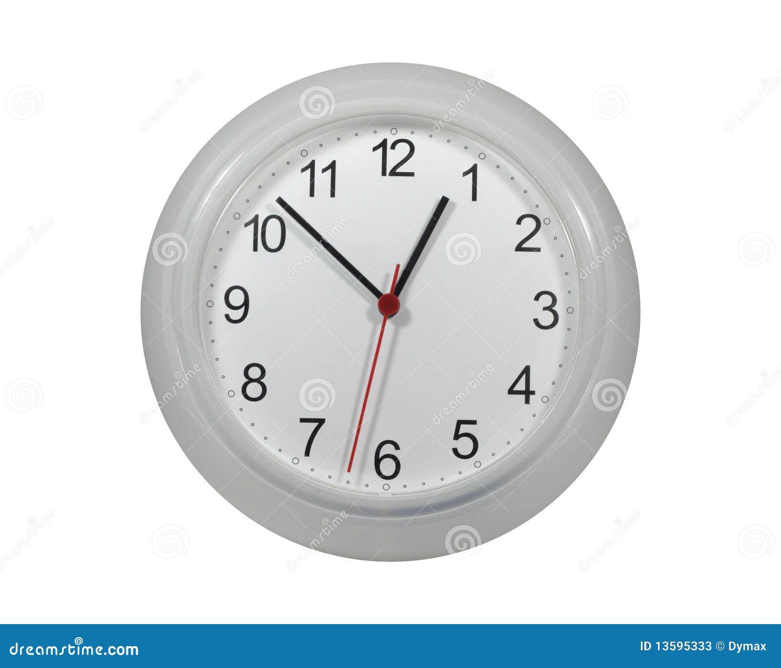 Clocks On Wall Stock Photo