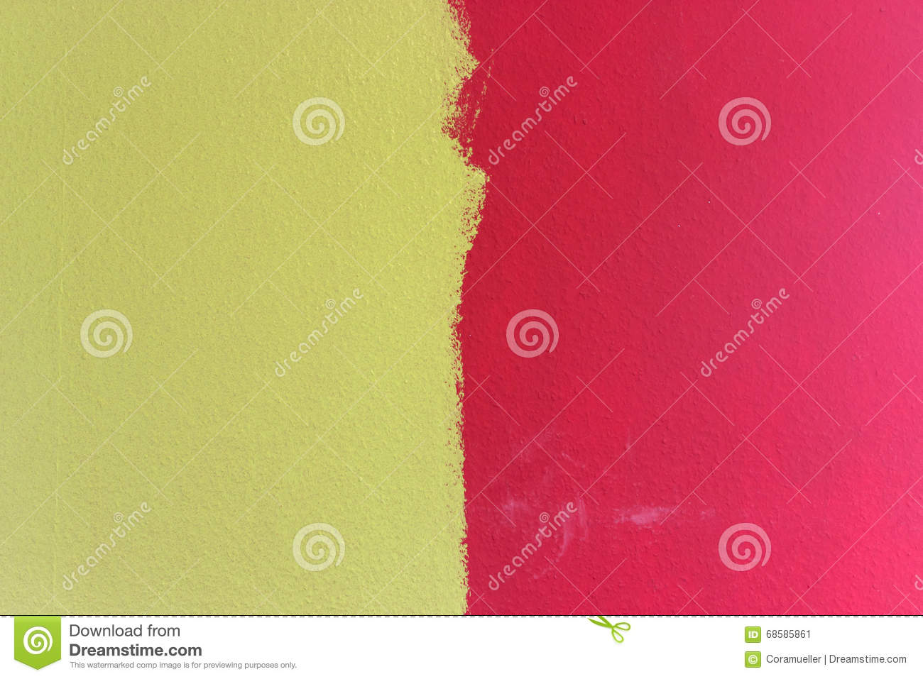 Wall color stock image. Image of painters, redecorate - 68585861