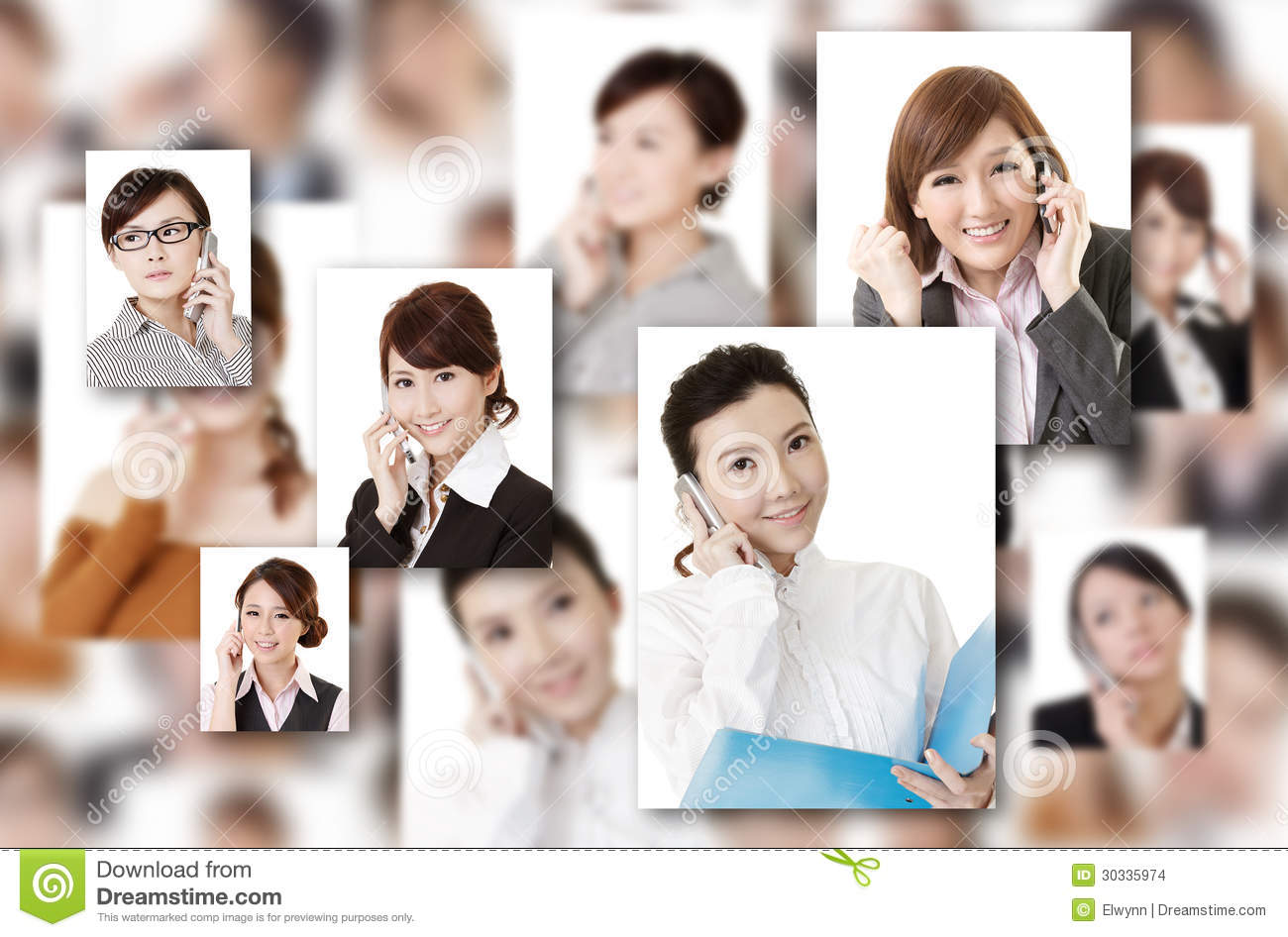 Wall Of Communication Stock Images - Image: 30335974