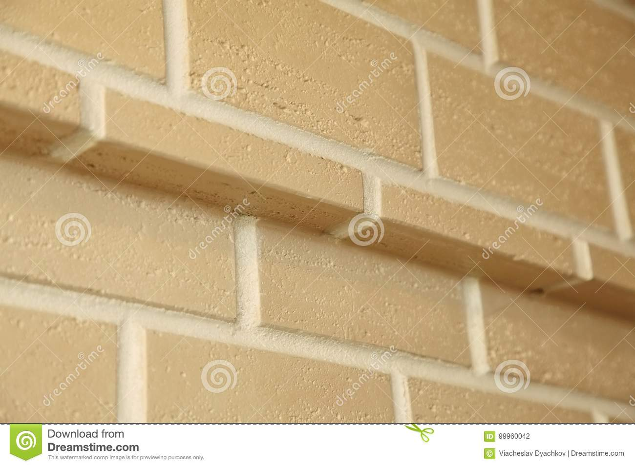 The Corner Structure Of The House. Texture - Artificial Decorative ...