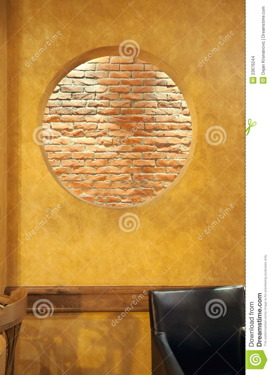 Wall Hole Design : Wall design stock images image