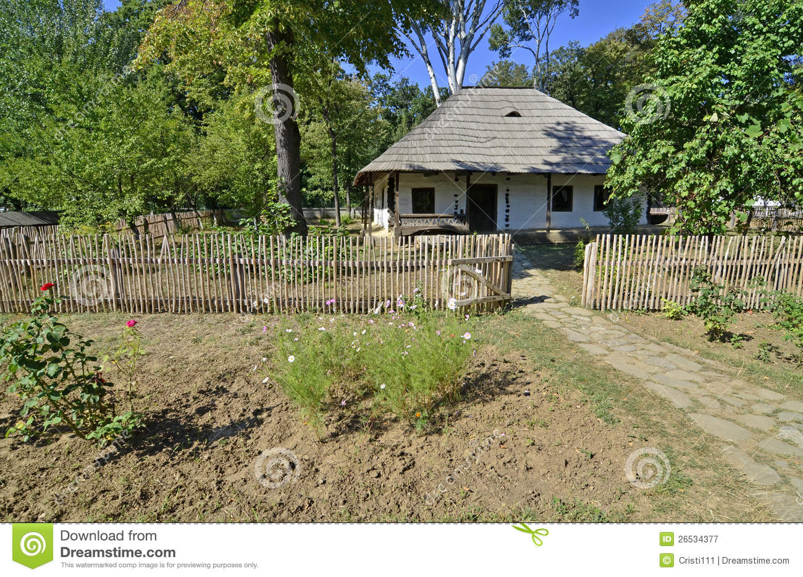 Wall fence garden