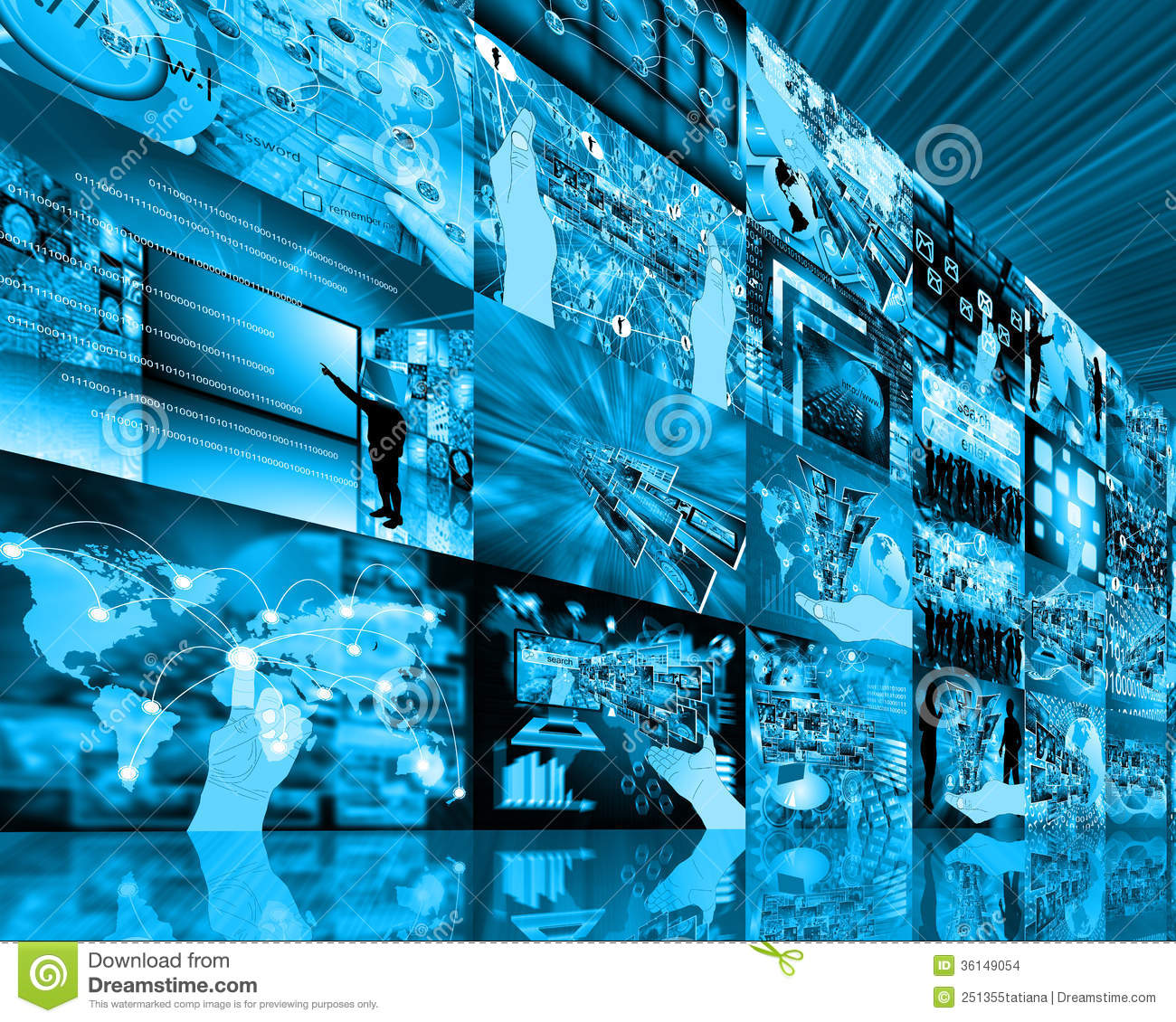 wall high tech stock photo image of object definition 36149054