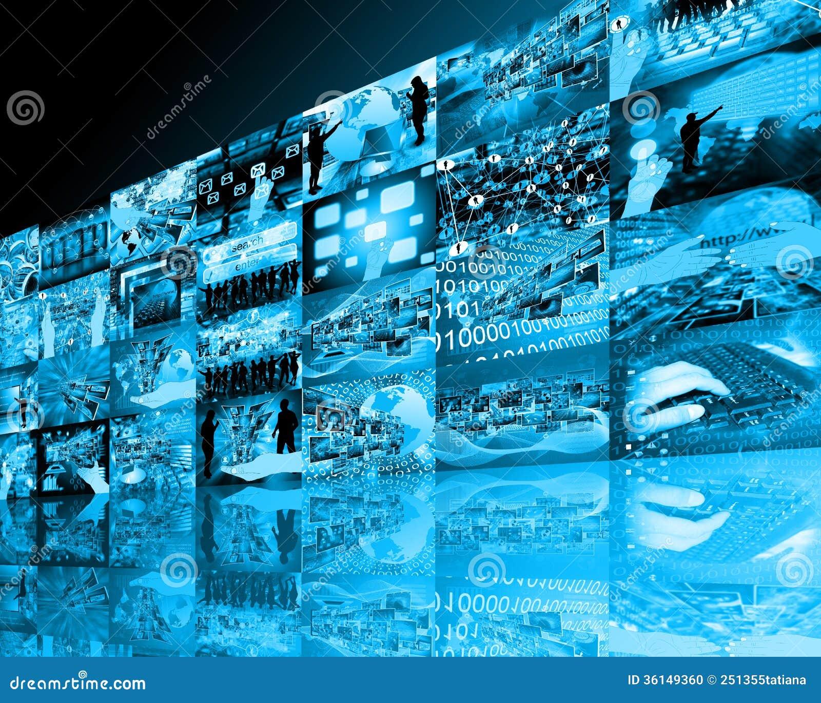 wall high tech stock photo image of hi interface movie 36149360