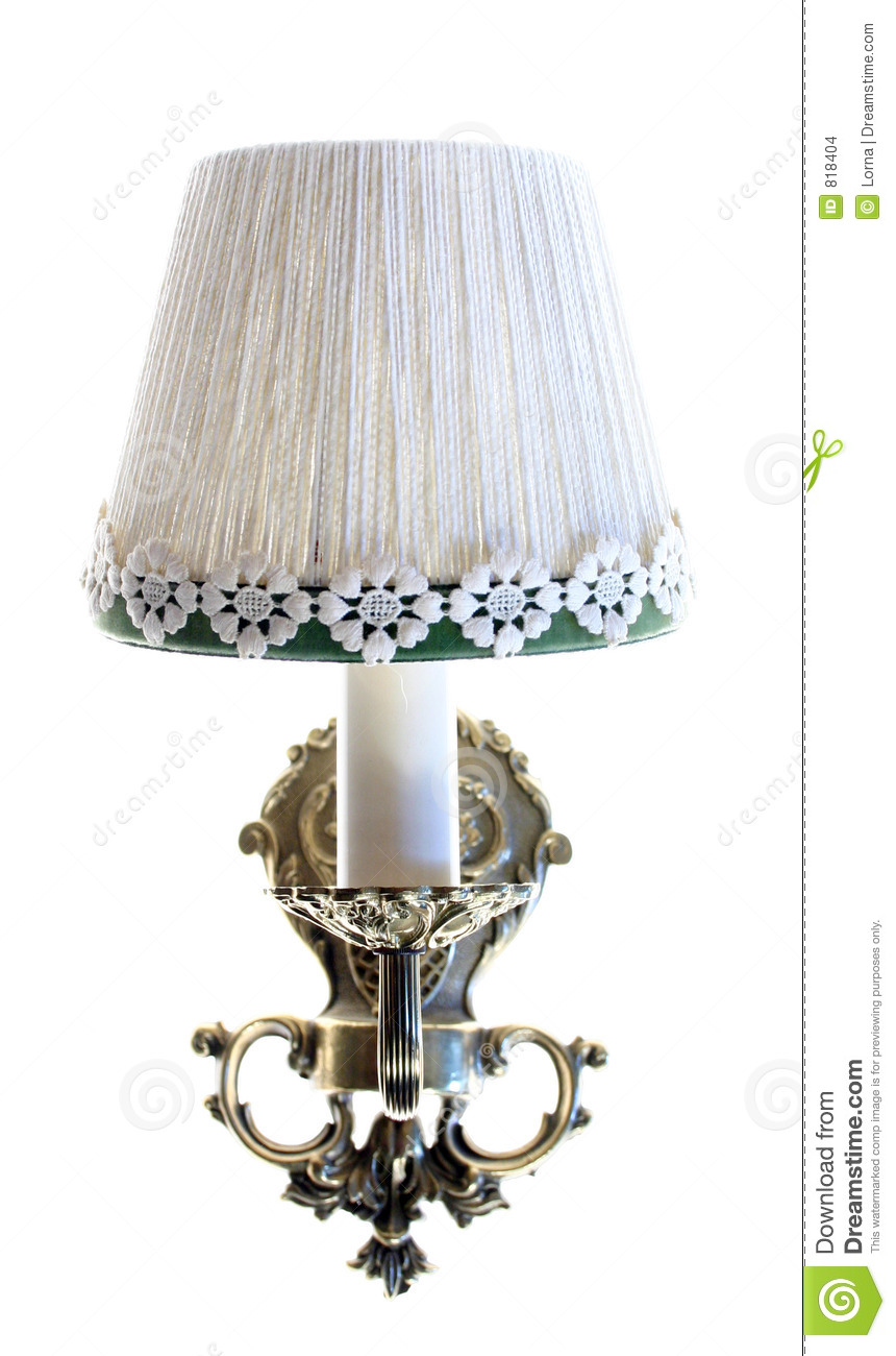 Wall Light Lamp Isolated Stock Images Image 818404