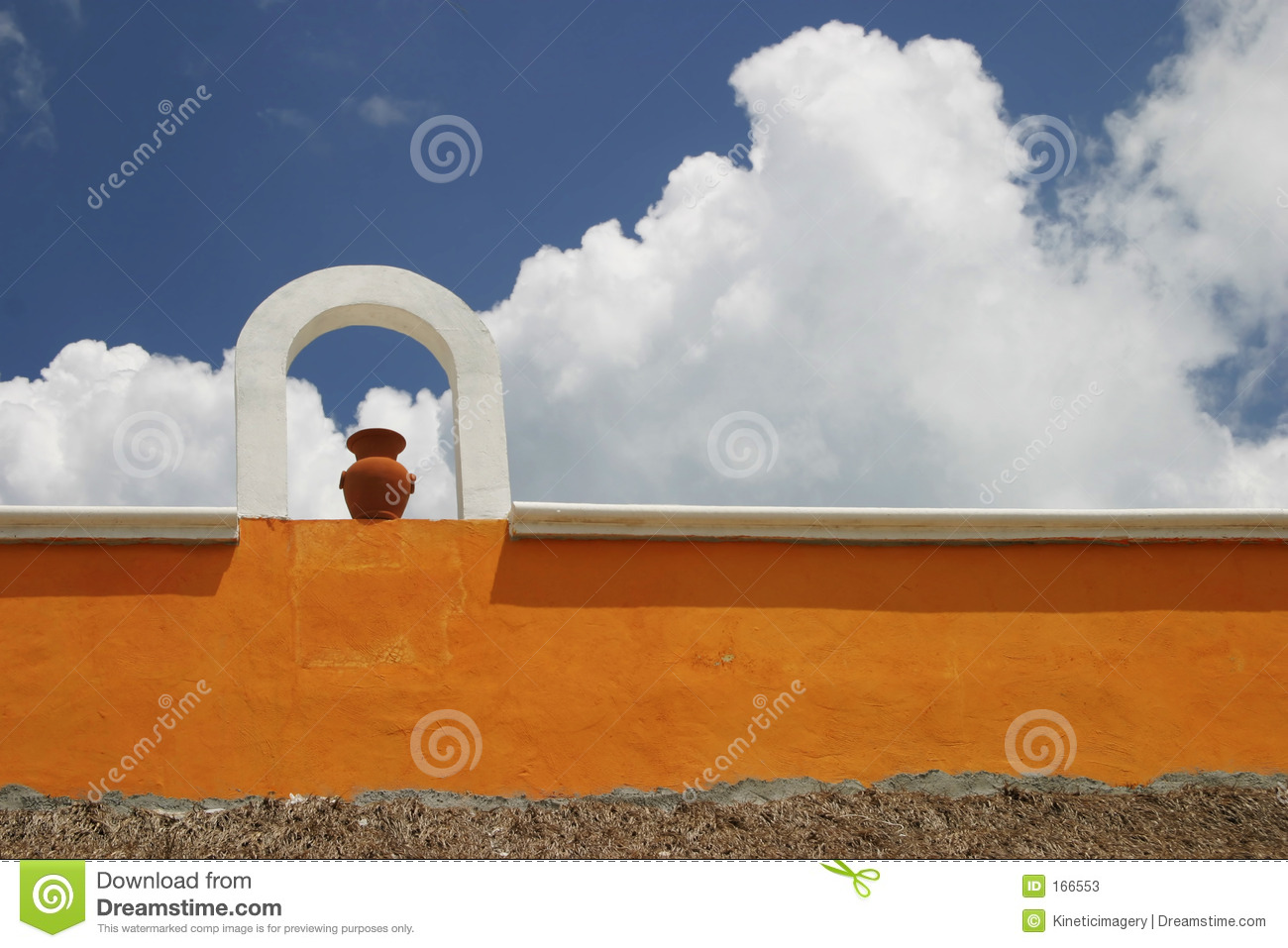 Wall in mexico