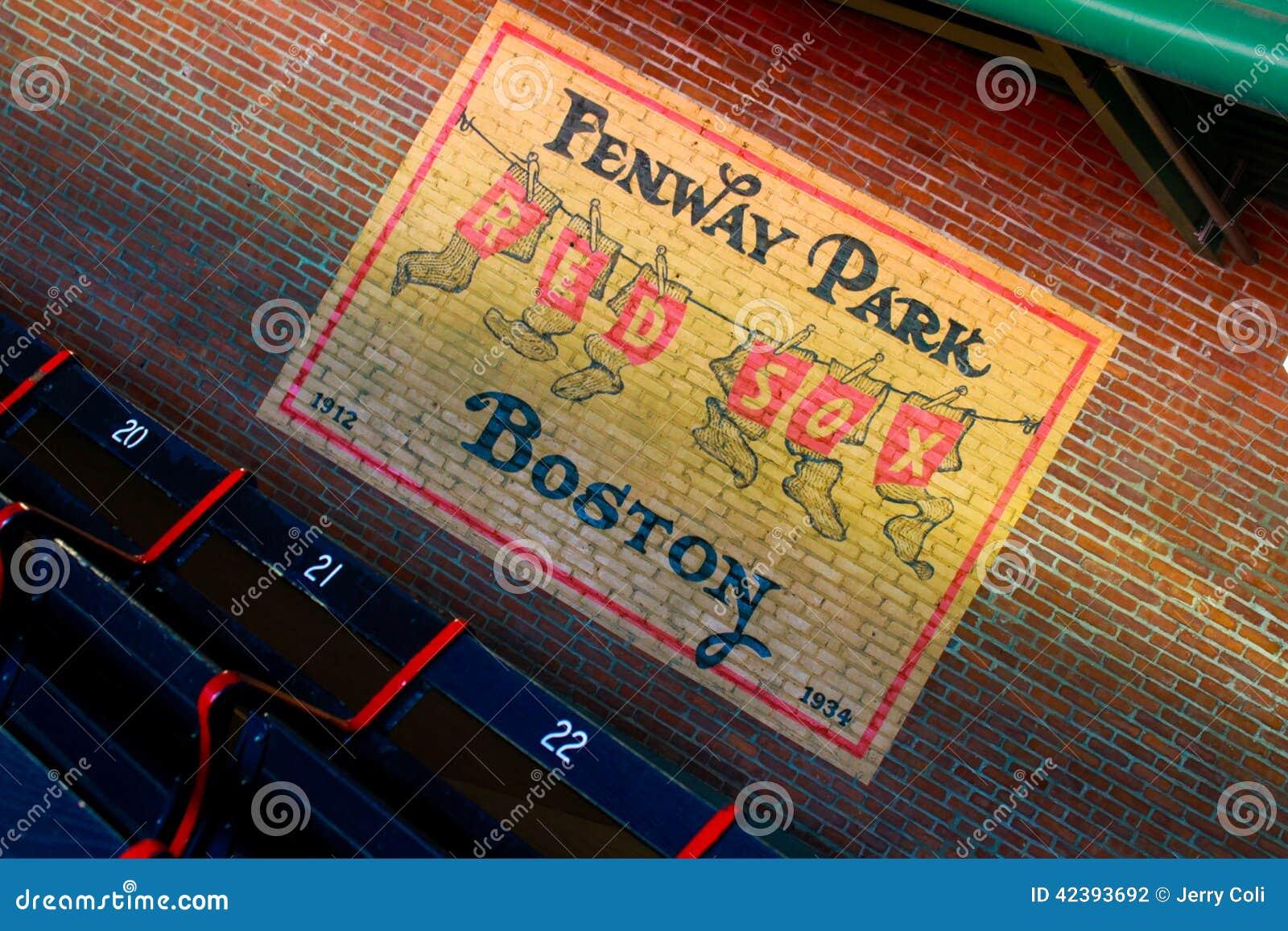Marvelous Beautiful Fenway Park Wall Mural Idea · Exceptional Fenway Park Wall Mural  Awesome Ideas Part 5