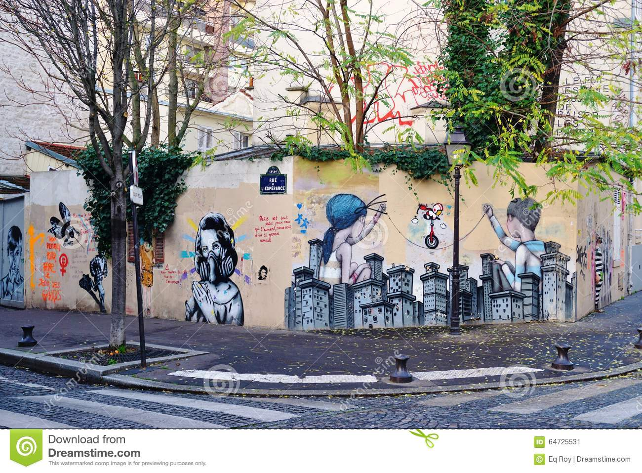 Wall mural painting by famous french street artist seth wall mural painting by famous french street artist seth globepainter in paris amipublicfo Image collections