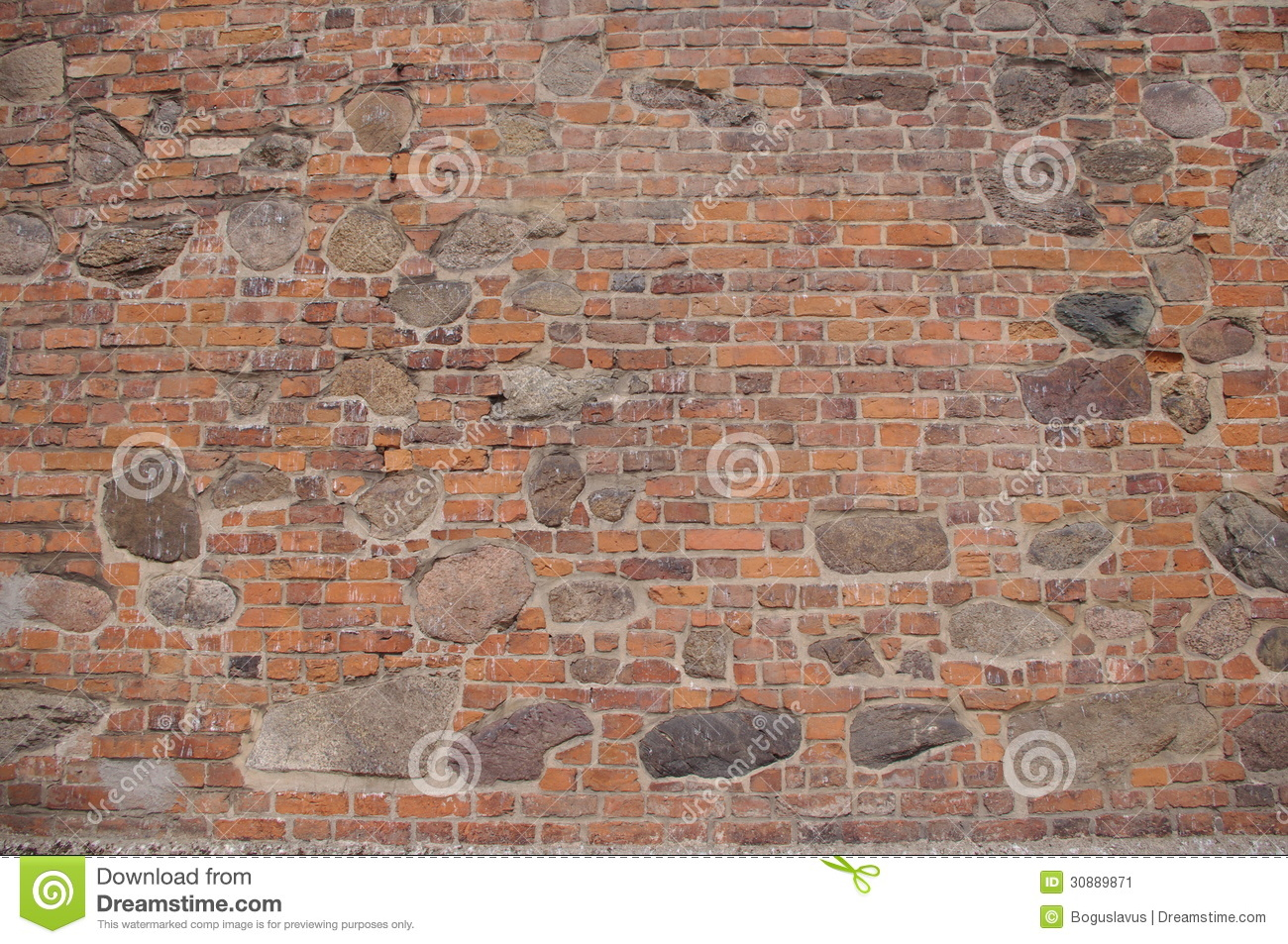 Wall. stock image. Image of joint, cement, large, historic ...