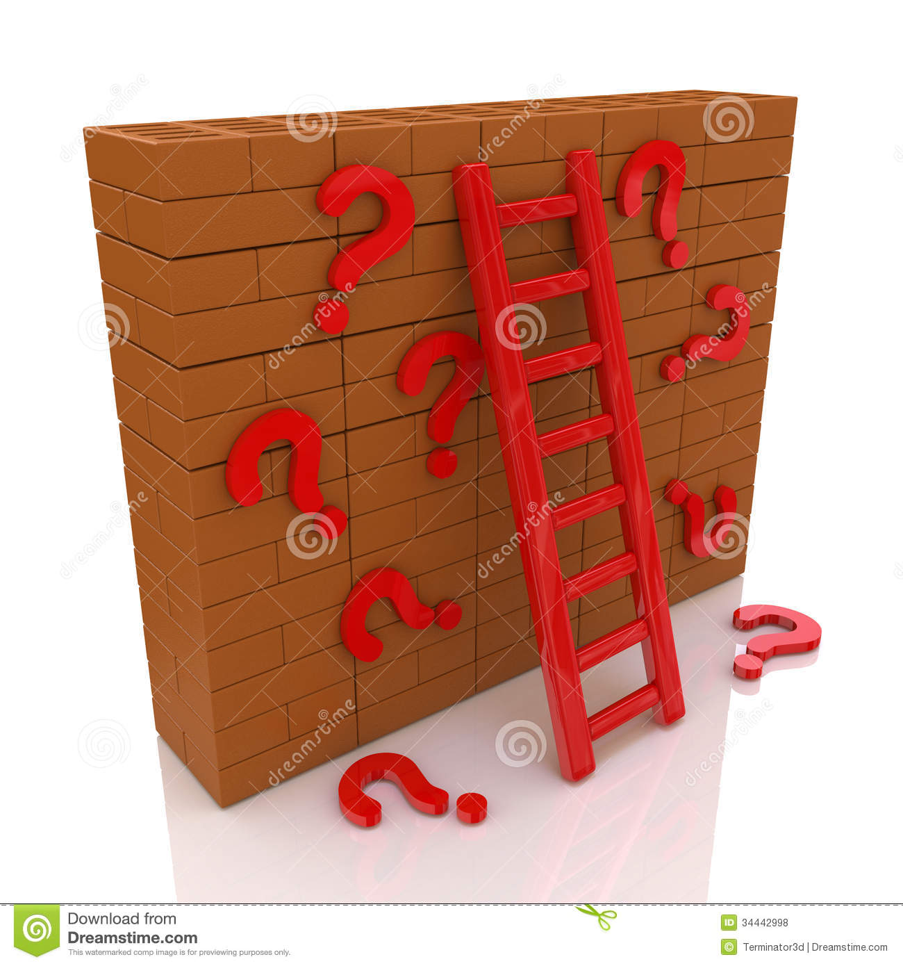 Wall questions royalty free stock photos image 34442998 for Decor questions