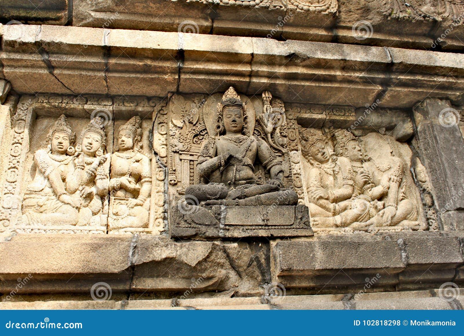 Prambanan Temple Relief Letter