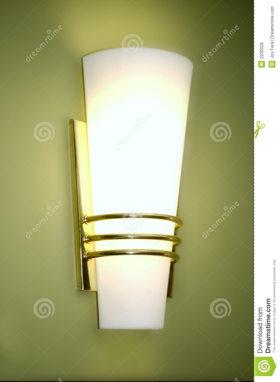 wall sconce royalty free stock photos