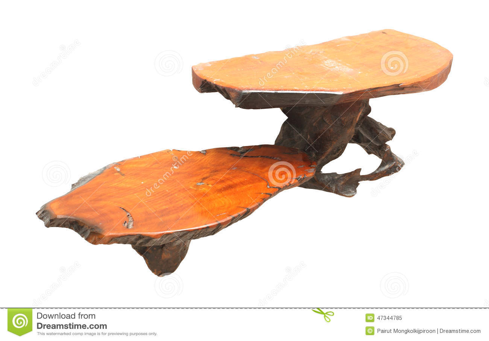Wall Shelves Design Natural Wood Stock Photo - Image: 47344785