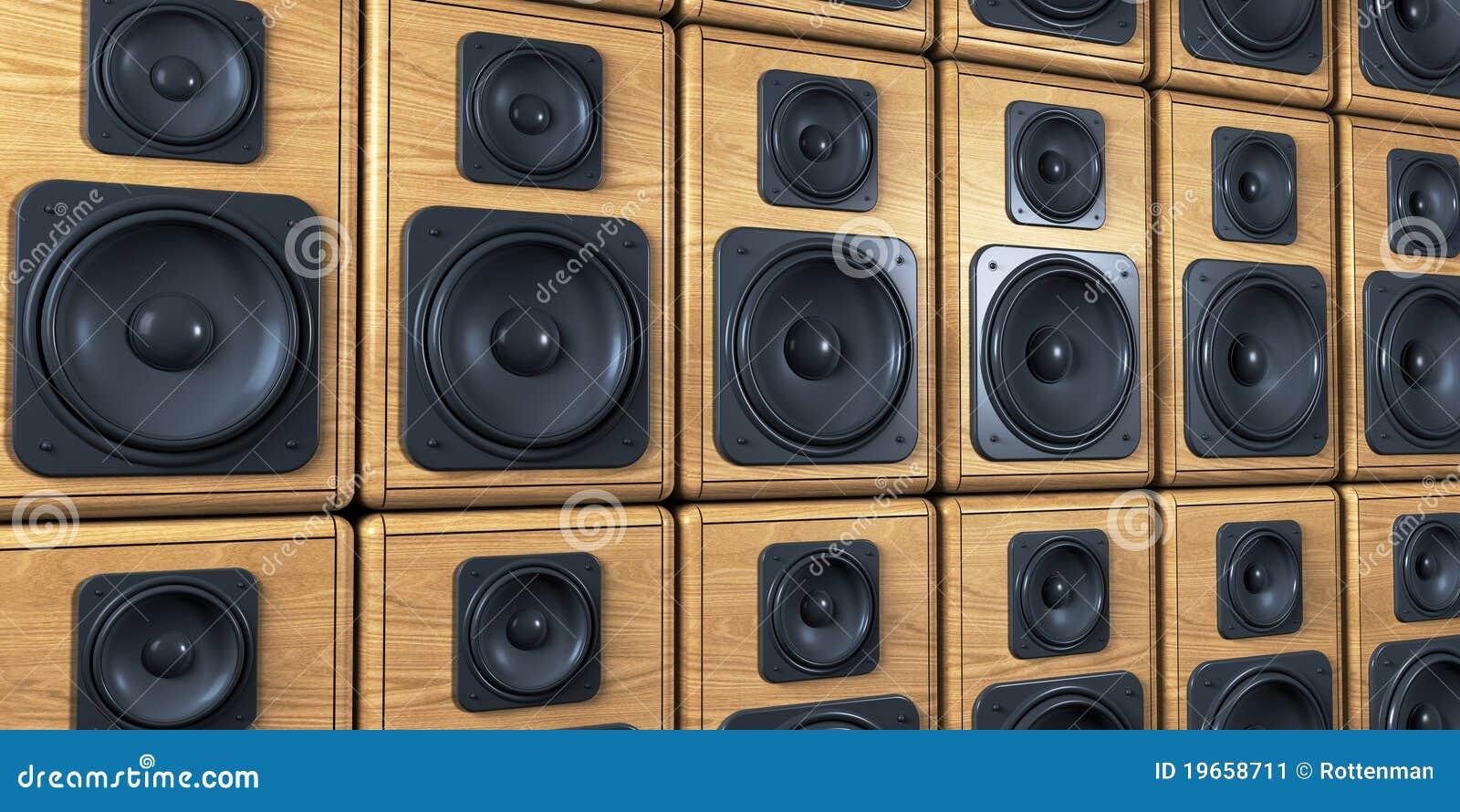 wall speakers: