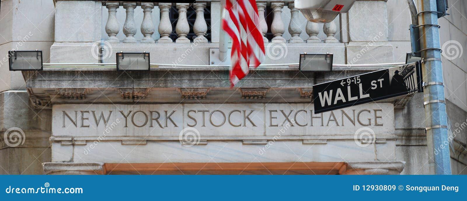 Wall Street et Bourse de New York