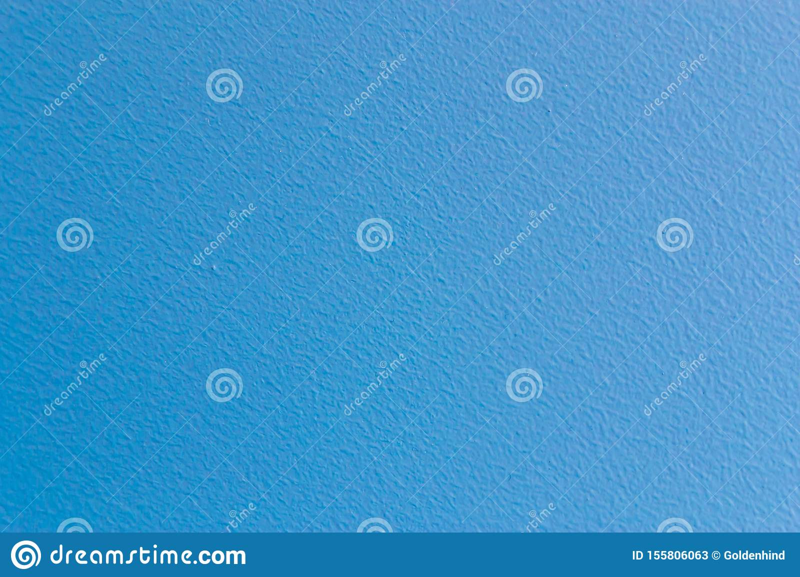 Wall Surface Painted In Light Blue Color Texture Background