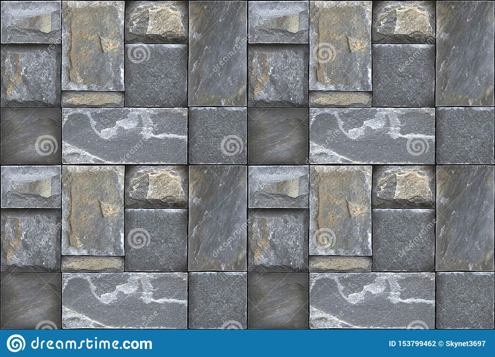 Wall Tiles Digital Elevation Tiles Stock Photo - Image of