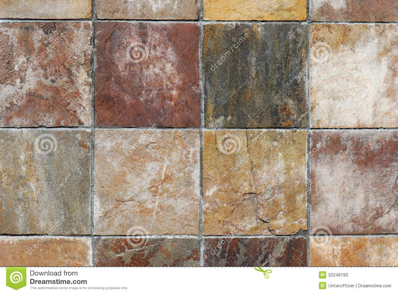 Wall Tiles Stock Image Image Of Cracks Granite Ceramic