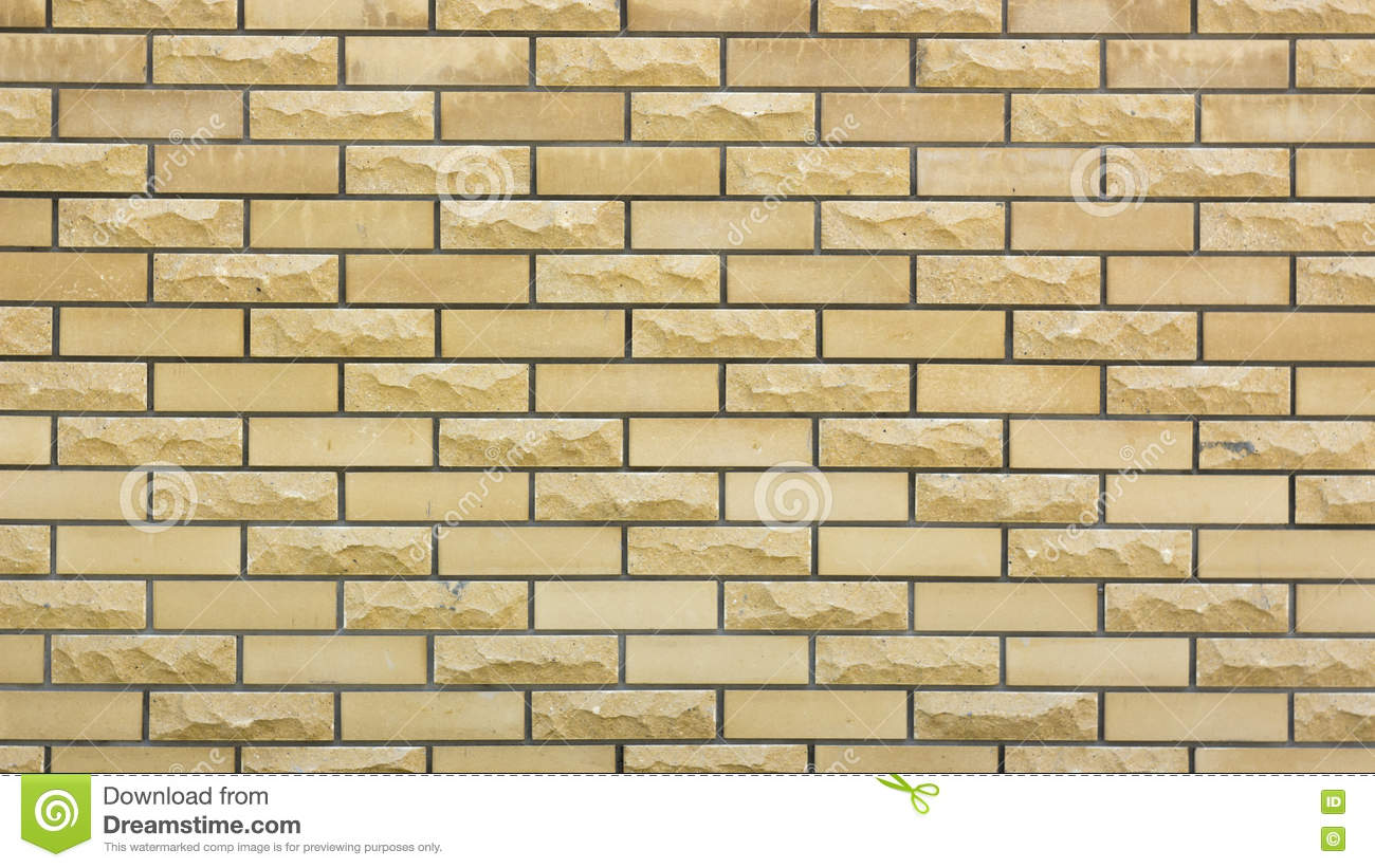 Wall Of A Wild Yellow Decorative Stone Stock Photo - Image of retro ...