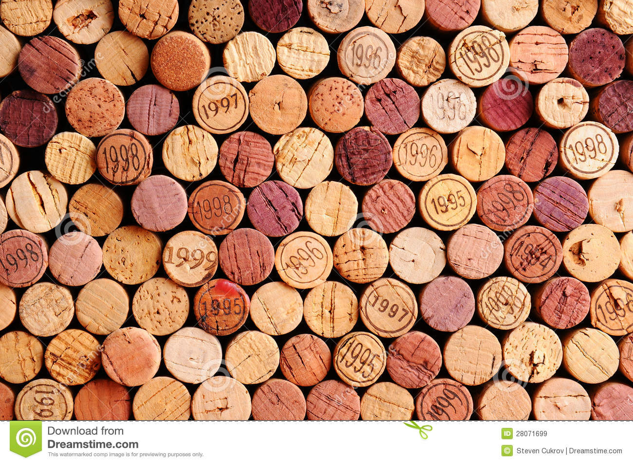 Wall of Wine Corks
