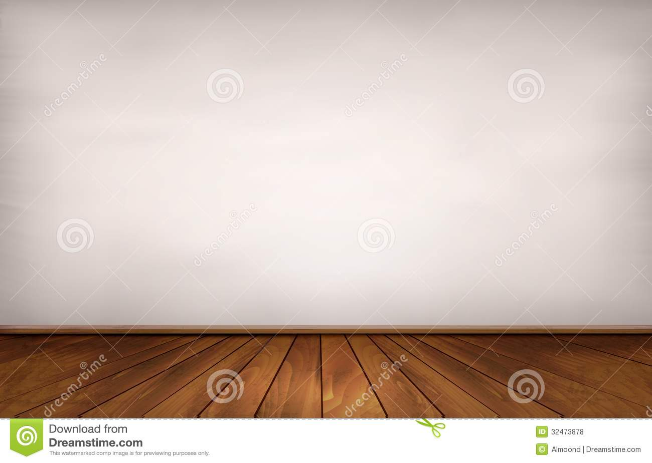Wall And A Wooden Floor Royalty Free Stock Photos Image
