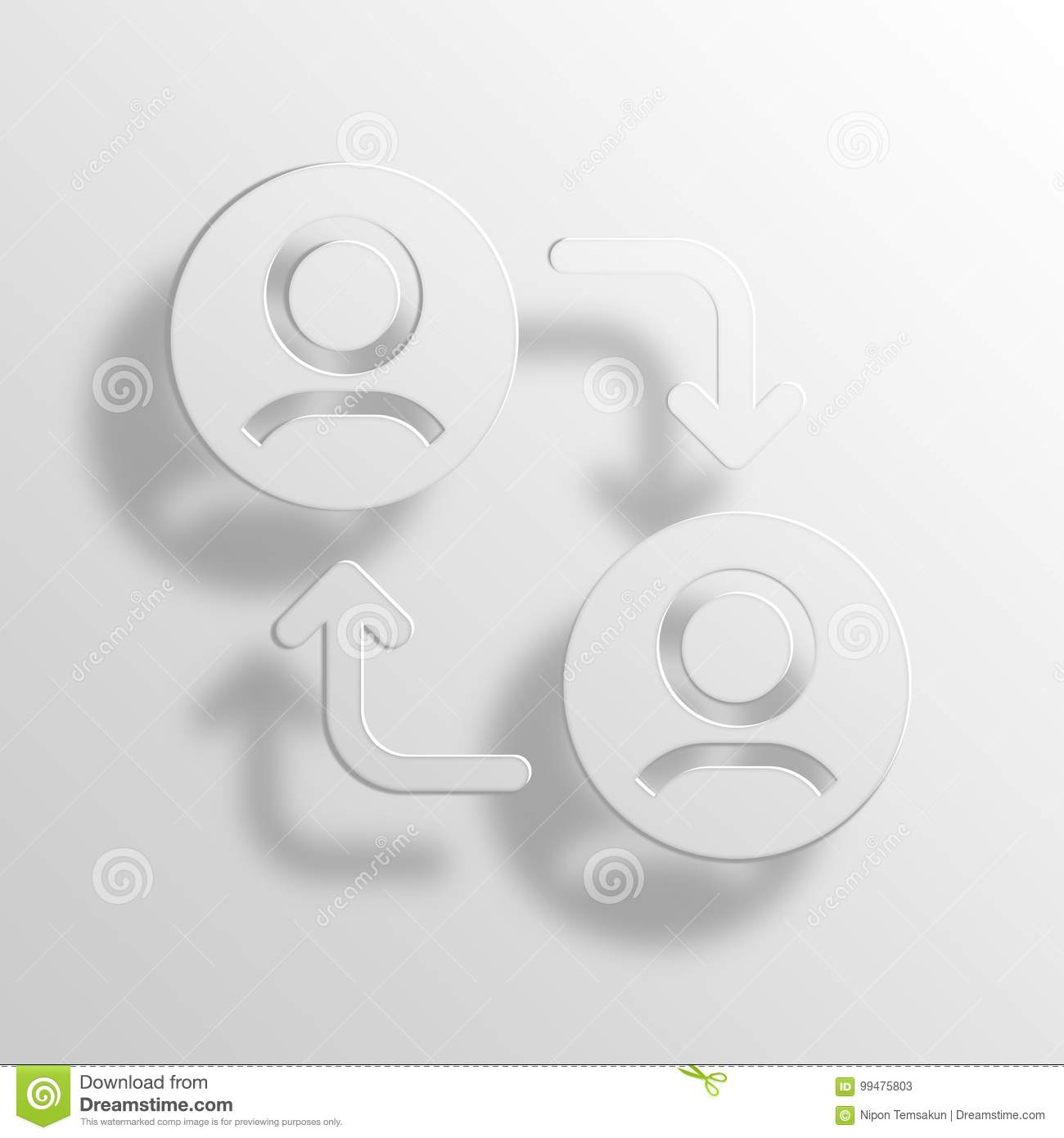 Wallet 3D Rendering Paper Icon Symbol Business Word Cloud Concept ...