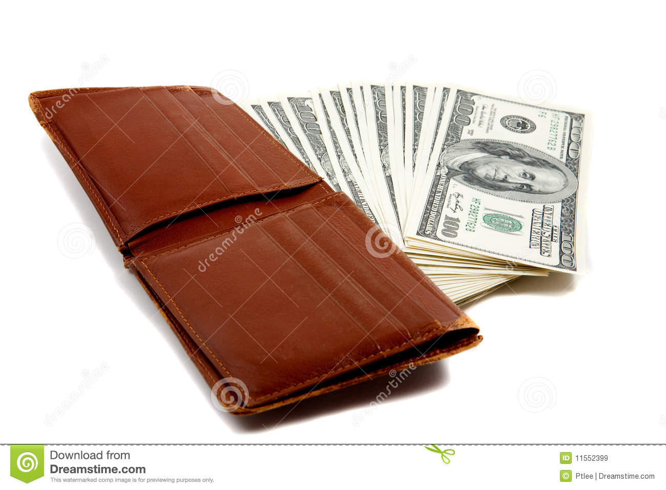 The Home Designers Wallet Full Of Money Royalty Free Stock Images Image