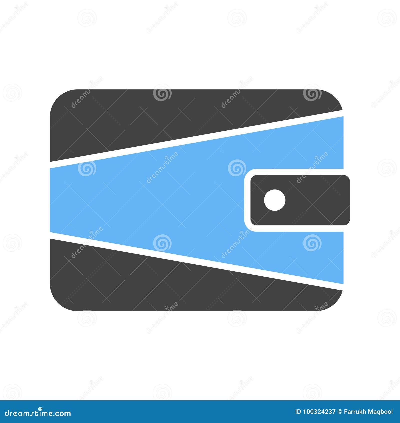 Wallet stock vector  Illustration of money, vector, concept